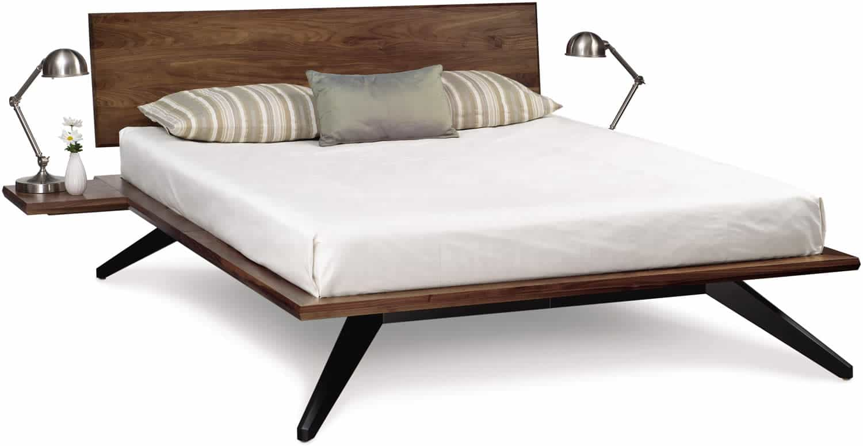 astrid bed in walnut bedroom more san carlos